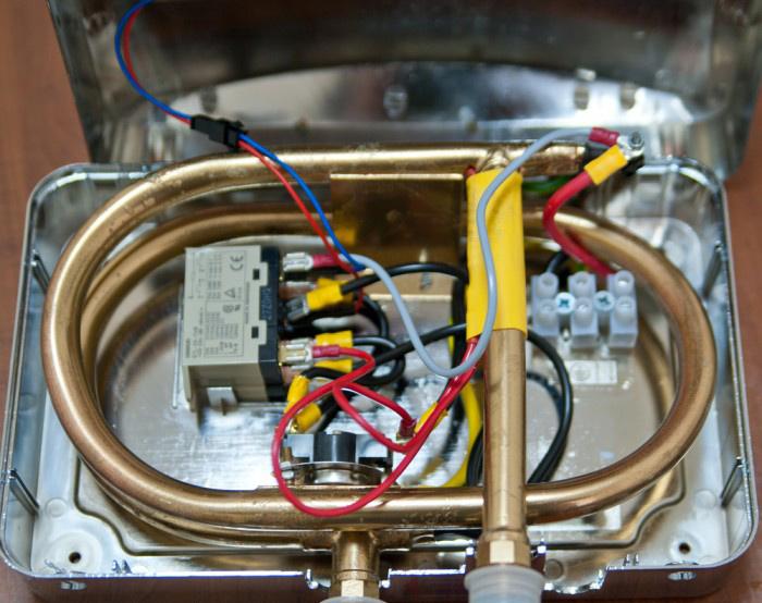 проточного водонагревателя