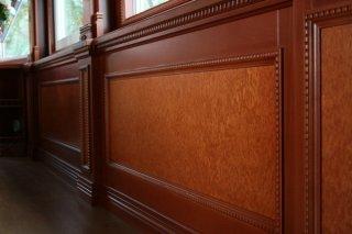 Деревянные панели – установка