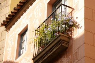 Монтаж металлического ограждения балкона