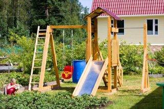 На что обратить внимание при покупке детской площадки