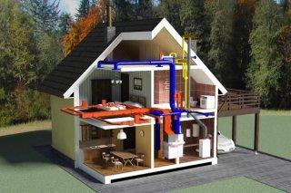 Обустройство системы кондиционирования в загородном доме
