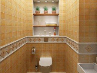 Особенности выбора плитки при ремонте туалета