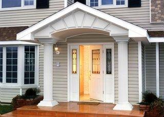 Металлические двери для дома