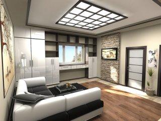 Как сделать однокомнатную квартиру комфортной