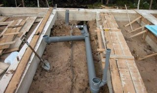Стоимость канализации для частных домов на основе бетонных колец